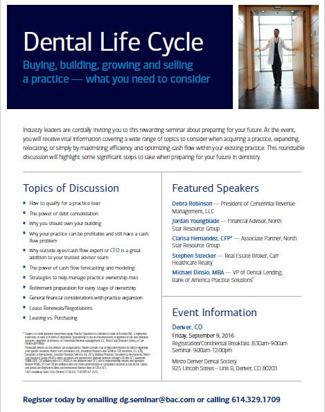 Dental Life Cycle