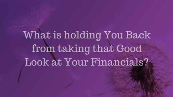 looking at financials
