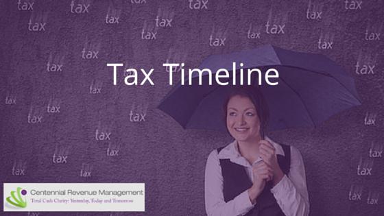 Tax Timeline-CRM blog