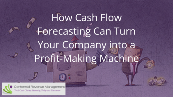 profit making with cash flow forecasting