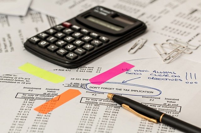 calculating taxes and investments